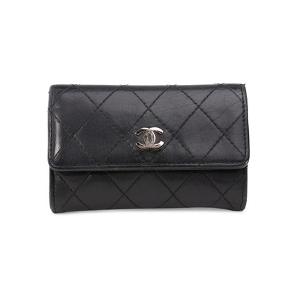 Authentic Second Hand Chanel Flap Coin Wallet (PSS-852-00070)