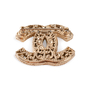 Authentic Second Hand Chanel CC Brooch (PSS-852-00073) - Thumbnail 2