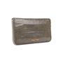 Authentic Second Hand Miu Miu Croc-Embossed Long Wallet (PSS-A70-00002) - Thumbnail 1