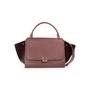 Authentic Second Hand Céline Suede Trim Trapeze Bag (PSS-A70-00010) - Thumbnail 0