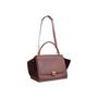 Authentic Second Hand Céline Suede Trim Trapeze Bag (PSS-A70-00010) - Thumbnail 4