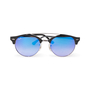 Authentic Second Hand Ray Ban Clubround Mirror Sunglasses (PSS-A70-00015) - Thumbnail 0