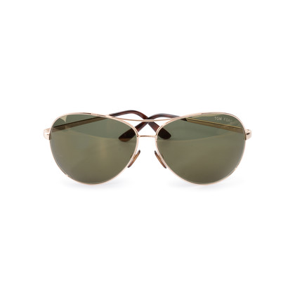 Authentic Second Hand Tom Ford Charles Aviator Sunglasses (PSS-A70-00017)