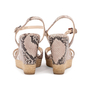 Authentic Second Hand Prada Embossed Snakeskin Espadrille Wedges (PSS-393-00109) - Thumbnail 2