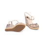 Authentic Second Hand Prada Embossed Snakeskin Espadrille Wedges (PSS-393-00109) - Thumbnail 5
