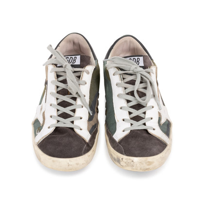 Authentic Second Hand Golden Goose Deluxe Brand Superstar Camou Sneakers (PSS-393-00114)