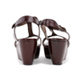 Authentic Second Hand Marni T-Strap Wedge Sandals (PSS-393-00110) - Thumbnail 2