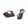 Authentic Second Hand Marni T-Strap Wedge Sandals (PSS-393-00110) - Thumbnail 4