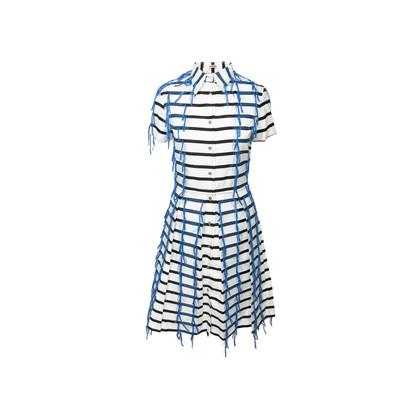 Authentic Second Hand Jourden Striped Shirt Dress (PSS-A66-00016)