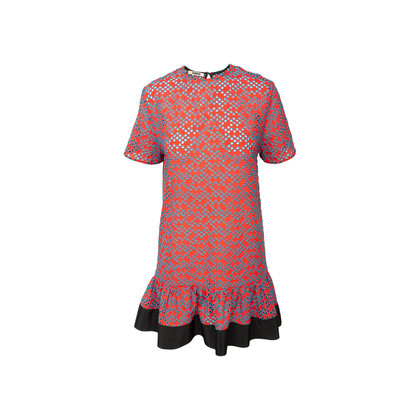 Authentic Second Hand Jourden Eyelet Dress (PSS-A66-00014)