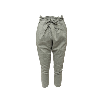 Authentic Second Hand Vivienne Westwood Anglomania Paper Bag Cropped Trousers (PSS-A66-00036)