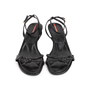 Authentic Second Hand Prada Knot Wedge Sandals (PSS-393-00113) - Thumbnail 0