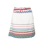 Authentic Second Hand Chanel Striped Woven Airlines Skirt (PSS-990-00560) - Thumbnail 0