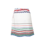 Authentic Second Hand Chanel Striped Woven Airlines Skirt (PSS-990-00560) - Thumbnail 1
