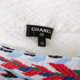 Authentic Second Hand Chanel Striped Woven Airlines Skirt (PSS-990-00560) - Thumbnail 2