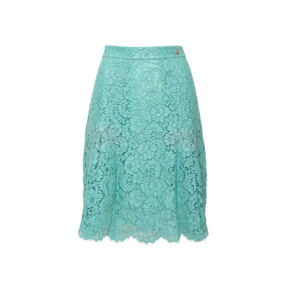 Authentic Second Hand Chanel Lace Skirt (PSS-990-00570)