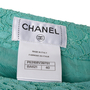 Authentic Second Hand Chanel Lace Skirt (PSS-990-00570) - Thumbnail 3