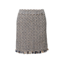 Authentic Second Hand Chanel Wool Tweed Skirt (PSS-990-00587) - Thumbnail 0
