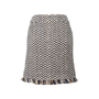 Authentic Second Hand Chanel Wool Tweed Skirt (PSS-990-00587) - Thumbnail 1