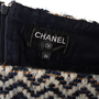 Authentic Second Hand Chanel Wool Tweed Skirt (PSS-990-00587) - Thumbnail 2