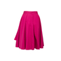 Authentic Second Hand Hermès Pleat Layered Skirt (PSS-990-00589) - Thumbnail 1