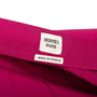 Authentic Second Hand Hermès Pleat Layered Skirt (PSS-990-00589) - Thumbnail 2