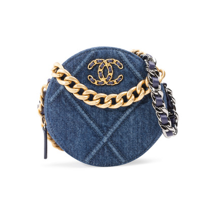 Authentic Second Hand Chanel Chanel 19 Clutch With Chain (PSS-059-00102)