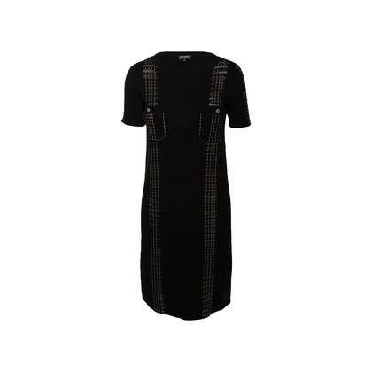 Authentic Second Hand Chanel Paris Cuba Knit Dress (PSS-990-00564)