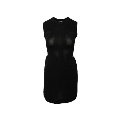 Authentic Second Hand Chanel Structured Knit Dress (PSS-990-00569)