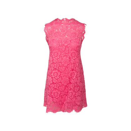 Authentic Second Hand Valentino Lace Shift Dress  (PSS-990-00572)