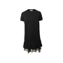 Authentic Second Hand Valentino Lace Trim Shift Dress (PSS-990-00579) - Thumbnail 0
