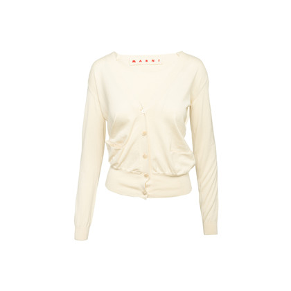 Authentic Second Hand Marni Cotton Knit Cardigan (PSS-990-00612)