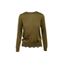 Authentic Second Hand Gucci Lace Trim Sweater (PSS-990-00616) - Thumbnail 0