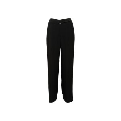 Authentic Second Hand Armani Collezioni Wide Leg Trousers (PSS-A75-00010)