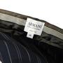 Authentic Second Hand Armani Collezioni Pinstripe Straight Cut Pants (PSS-A75-00017) - Thumbnail 2