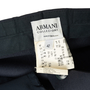 Authentic Second Hand Armani Collezioni Navy Wide Leg Trousers (PSS-A75-00022) - Thumbnail 2