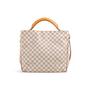 Authentic Second Hand Louis Vuitton Soffi Damier Azur Satchel (PSS-299-00037) - Thumbnail 2