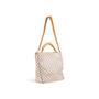 Authentic Second Hand Louis Vuitton Soffi Damier Azur Satchel (PSS-299-00037) - Thumbnail 3