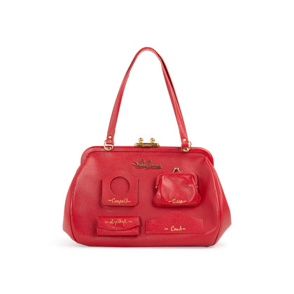 Authentic Second Hand Lulu Guinness Multi-Pocket Bag (PSS-304-00168)