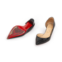 Authentic Second Hand Christian Louboutin Karera D'Orsay Pumps (PSS-328-00030) - Thumbnail 4