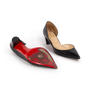 Authentic Second Hand Christian Louboutin Karera D'Orsay Pumps (PSS-328-00030) - Thumbnail 5