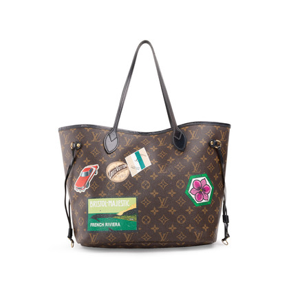Authentic Second Hand Louis Vuitton World Tour Neverfull MM Bag (PSS-A72-00003)