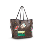 Authentic Second Hand Louis Vuitton World Tour Neverfull MM Bag (PSS-A72-00003) - Thumbnail 1