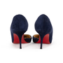 Authentic Second Hand Christian Louboutin Culturella Suede D'Orsay Pumps (PSS-328-00031) - Thumbnail 2