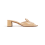 Authentic Second Hand Prada Textured Patent Sandals  (PSS-328-00032) - Thumbnail 1