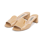 Authentic Second Hand Prada Textured Patent Sandals  (PSS-328-00032) - Thumbnail 3