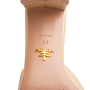 Authentic Second Hand Prada Textured Patent Sandals  (PSS-328-00032) - Thumbnail 6