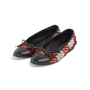 Authentic Second Hand Chanel Tweed Patchwork Ballerina Flats (PSS-A82-00002) - Thumbnail 3