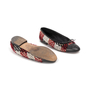 Authentic Second Hand Chanel Tweed Patchwork Ballerina Flats (PSS-A82-00002) - Thumbnail 5