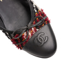 Authentic Second Hand Chanel Tweed Patchwork Ballerina Flats (PSS-A82-00002) - Thumbnail 7